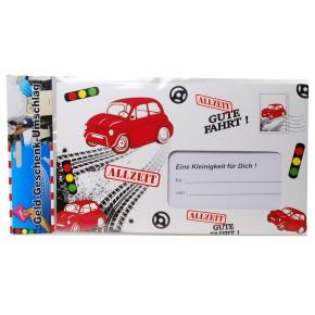Riesen-Umschlag Gute Fahrt Geschek Führerschein bestanden