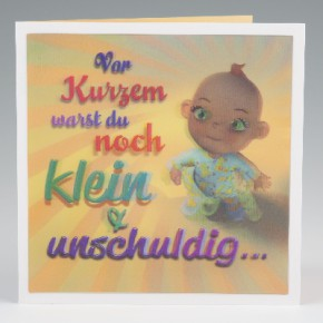 Depesche 3D Klappkarte 011 zum Geburtstag