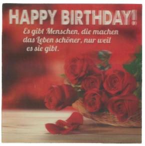 Depesche 3D Klappkarte 039 Happy Birthday