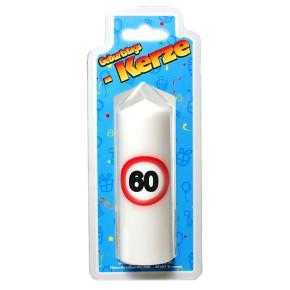 Geburtstags Kerze zum 60. Geburtstag 135g (Grundpreis 100g: 2,93 EUR)