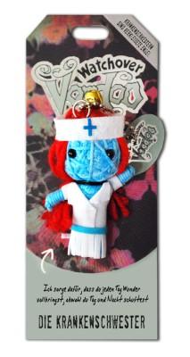 Watchover Voodoo Sammel Puppe mit Spruch  Krankenschwester