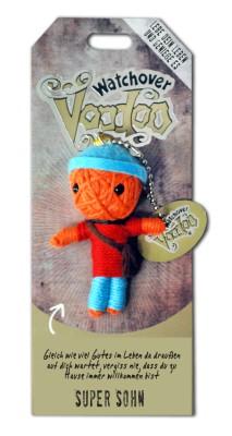 Watchover Voodoo Sammel Puppe mit Spruch Super Sohn