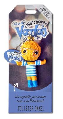 Watchover Voodoo Sammel Puppe mit Spruch Tollster Onkel