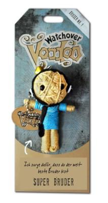 Watchover Voodoo Sammel Puppe mit Spruch Super  Bruder