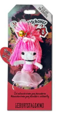 Watchover Voodoo Sammel Puppe mit Spruch Geburtstagskind