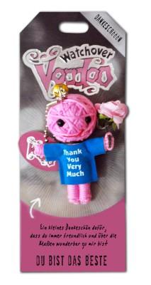 Watchover Voodoo Sammel Puppe mit Spruch Du bist das Beste