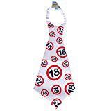 """Riesen-Krawatte """"18"""" Geschenk zum 18. Geburtstag"""