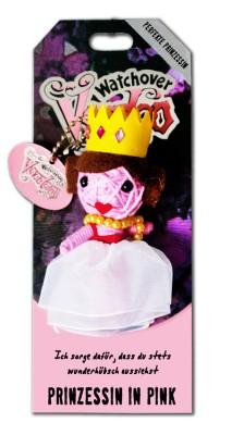 Watchover Voodoo Sammel Puppe mit Spruch Prinzessin in Pink