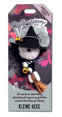 Watchover Voodoo Sammel Puppe mit Spruch Kleine Hexe