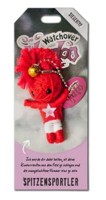 Watchover Voodoo Sammel Puppe mit Spruch Spitzensportler