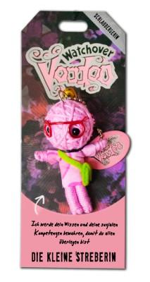 Watchover Voodoo Sammel Puppe mit Spruch kleine Streberin