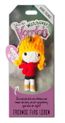 Watchover Voodoo Sammel Puppe mit Spruch Freunde fürs Leben