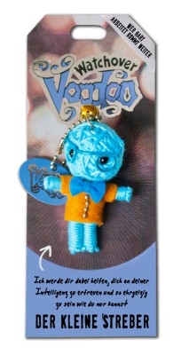 Watchover Voodoo Sammel Puppe mit Spruch  Der kleine Streber