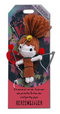 Watchover Voodoo Sammel Puppe mit Spruch Herzensjger