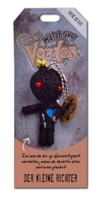 Watchover Voodoo Sammel Puppe mit Spruch Der kleine Richter