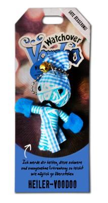 Watchover Voodoo Sammel Puppe mit Spruch Heiler-Voodoo