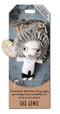 Watchover Voodoo Sammel Puppe mit Spruch Das Genie