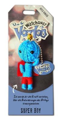 Watchover Voodoo Sammel Puppe mit Spruch Super Boy
