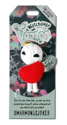 Watchover Voodoo Sammel Puppe mit Spruch Umarmungsjoker