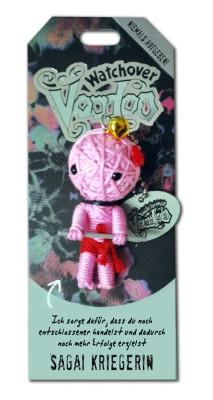 Watchover Voodoo Sammel Puppe mit Spruch Sagai Kriegerin
