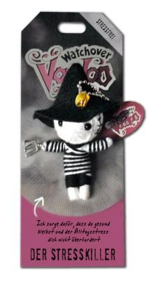 Watchover Voodoo Sammel Puppe mit Spruch Der Stresskiller