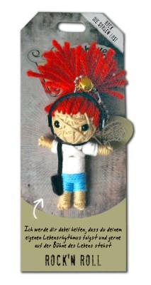 Watchover Voodoo Sammel Puppe mit Spruch Rock'n Roll