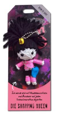 Watchover Voodoo Sammel Puppe mit Spruch Shopping Queen