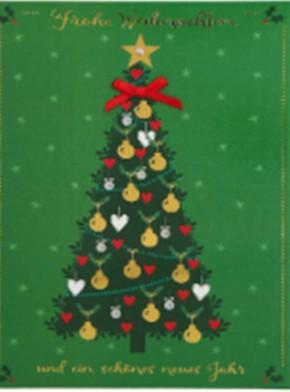 Lustige Weihnachtskarte Klappkarte Frohe Weihnachten und ein schönes...