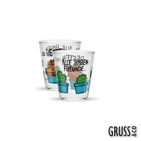Sheepworld Gruss & Co Sprüche Schnapsglas Nr.30 Freunde