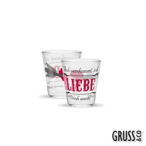Sheepworld Gruss & Co Sprüche Schnapsglas Nr.13 Liebe