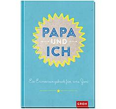 Groh Buch Papa und ich Erinnerungsbuch gemeinsamen Ausfüllen