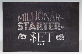 Klappkarte für Geldgeschenke 2239-028 Millionär-Starter-Set