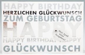 Klappkarte für Geldgeschenke 2239-014 Happy Birthday zum Geburts