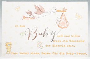 Klappkarte für Geldgeschenke 2239-038 So ein Baby süß und klein,