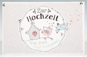 Klappkarte  fürGeldgeschenke 2239-030 Zur Hochzeit. Viel Spaß be