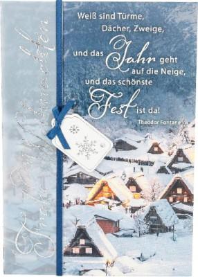 Emotions Weihnachtsklappkarte 044 für Geldgeschenke 1 Karte