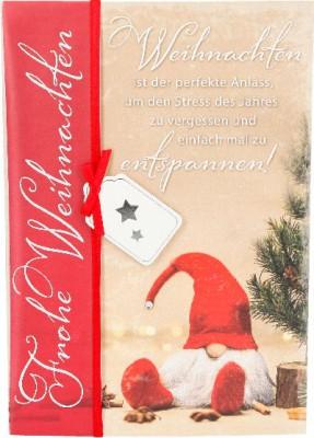 Emotions Weihnachtsklappkarte Weihnachten ist der perfekte Anlass... 1480-052