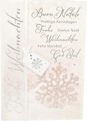 Emotions Weihnachtsklappkarte Buon Natale Prettige Kerstdagen...  1480-054