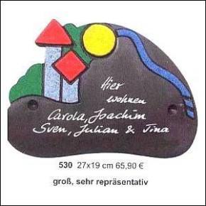 Haustürschilder Serie Grafic Design 8