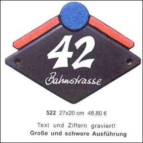 Haustürschilder Grafic Design 12