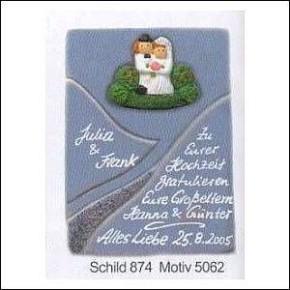 Haustürschilder Serie Swing  874-5062