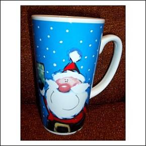 Tasse Becher Motiv Weihnachtsmann