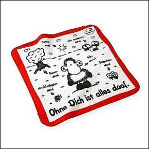 Sheepworld Zauber Handtuch Ohne dich