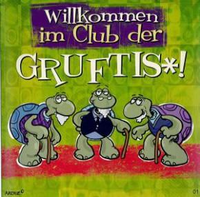 Geburtstagskarte mit Musik 3868-001 Grufti Club