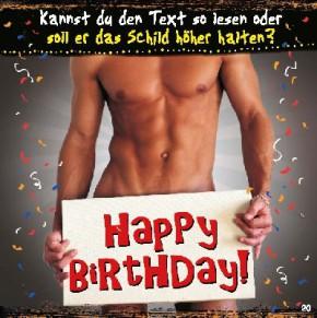 Geburtstagskarte mit Musik 3868-020d Happy Birthday