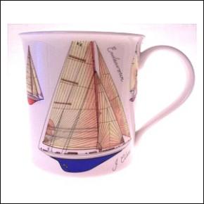 Kaffee tasse Motiv Segelboot