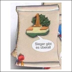 Schilder Urkunde Sport