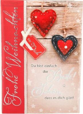 Emotions Weihnachtsklappkarte 021 für Geldgeschenke 1 Karte