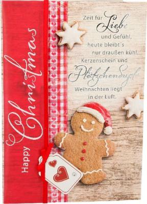 Emotions Weihnachtsklappkarte 035 für Geldgeschenke 1 Karte