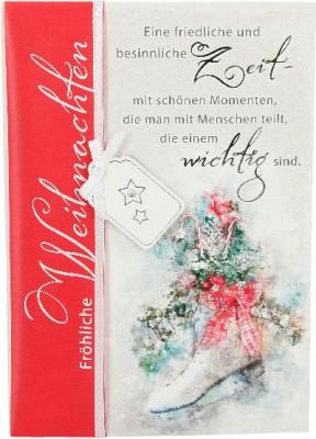 Emotions Weihnachtsklappkarte 039 für Geldgeschenke 1 Karte
